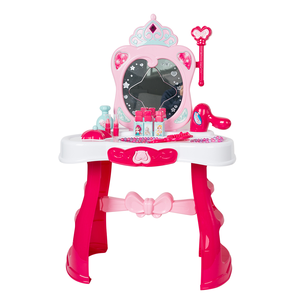 sports shoes cd8a8 1cf54 US $23.74 5% OFF|Pretend Play Beauty Dressing Table Toys For Children  Vanity Beauty Playset Dresser Mirror for Girls-in Beauty & Fashion Toys  from ...