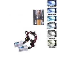 1PC H1 H3 H4 H7 H11 9005 9006 880 881 HID Xenon Headlight Conversion Bulbs Kit