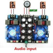 NEWTDA8954TH dual core Digital Amplificador de áudio 420 W + 420 W 2.0 amplificador de áudio estéreo Com ventilador AC24V