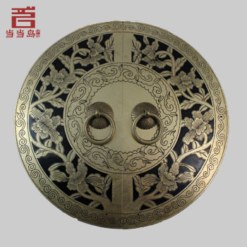 ФОТО Chinese antique Ming and Qing furniture, brass door handles DB-185 24CM
