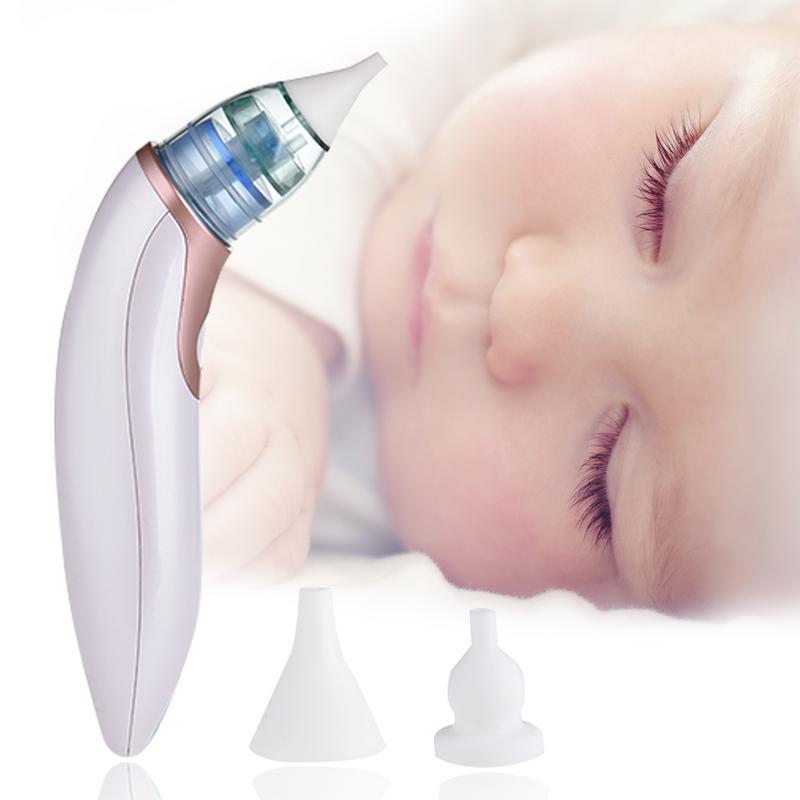 Electric nasal Aspirateur Safe hygiénique automatique Snot Sucker Nez Cleaner Infant