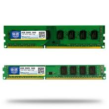 Оптовая продажа xiede DDR3 1600/PC3 12800 2 ГБ 4 ГБ 8 ГБ 16 ГБ Настольный ПК Оперативная память памяти Совместимость DDR 3 1333 мГц/1066 мГц PC3-12800 10600