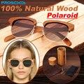 100% Real Natural de madeira artesanal de madeira óculos de sol dos homens mulheres Polarized Sunglass homem homens madeiras óculos quadro com caixa de caso 2015