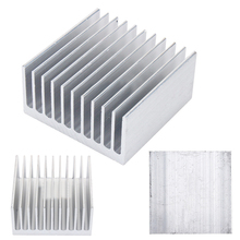 1 Piece New White 11 Tooth 40mm*40mm*20mm Aluminium Radiator Heatsink Heat Sink FGHGF