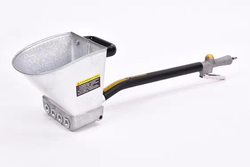 Portable Construction Tool Mortar Sprayer Air Stucco Sprayer Plaster Sprayer Cement Sprayer Gun Hopper Gun Wall Plastering