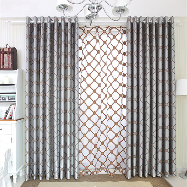 Pattern Window Curtains Curtains Insulated Picture  More Detailed Picture About Blue