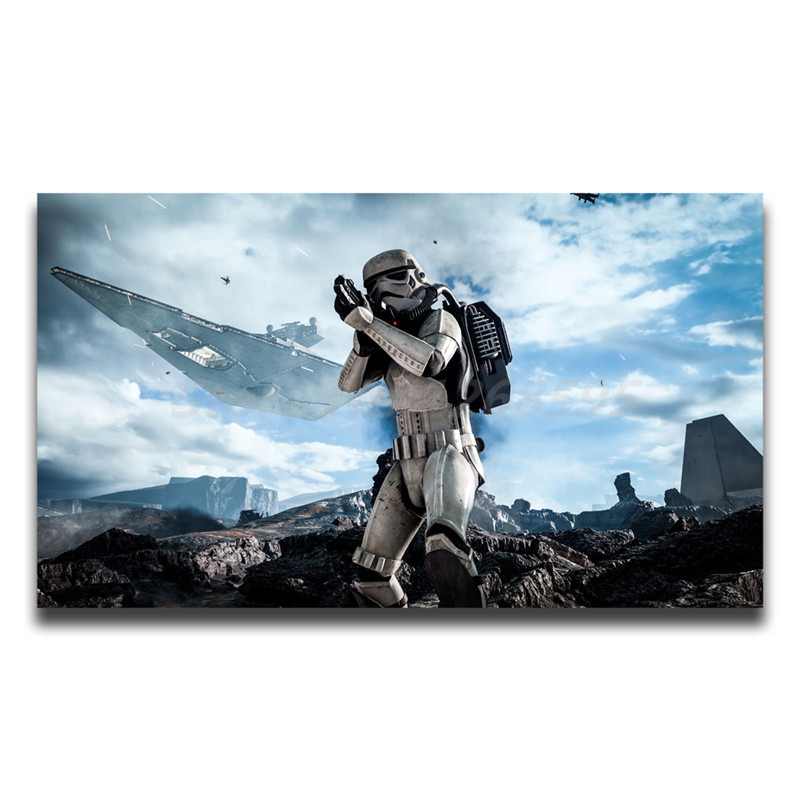 Star Wars Battlefront HD Painting Wall Art Print On Canvas Decorative Picture Living Room Home Bedroom Decoration image