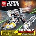 LEPIN 05040 1473 Unids Guerra de las Galaxias Y de Ataque del ala Starfighter Modelo Kits de Construcción de Juguetes de Bloques de Ladrillos Muchacho Compatible 10134