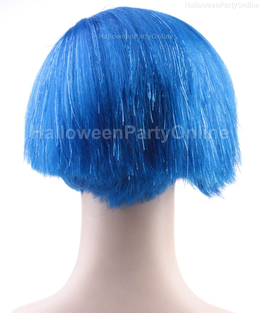 Online Shop Halloween Party Online Sadness Inside Out Wig Blue ...