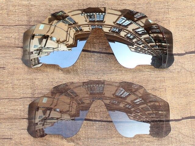 2b39a170b62461 Argent   Transition Photochromiques 2 Pièces Polarisées verres de Remplacement  Pour Jawbreaker lunettes de Soleil Cadre