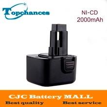 Newest 12V 2 0Ah Replacement Power Tool Battery for Dewalt 52250 27 DC9071 DE9037 DE9071 DW9072
