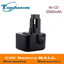 Newest 12V 2.0Ah Replacement Power Tool Battery for Dewalt 52250-27 DC9071 DE9037 DE9071 DW9072  DE9501 DW9071 DW9072