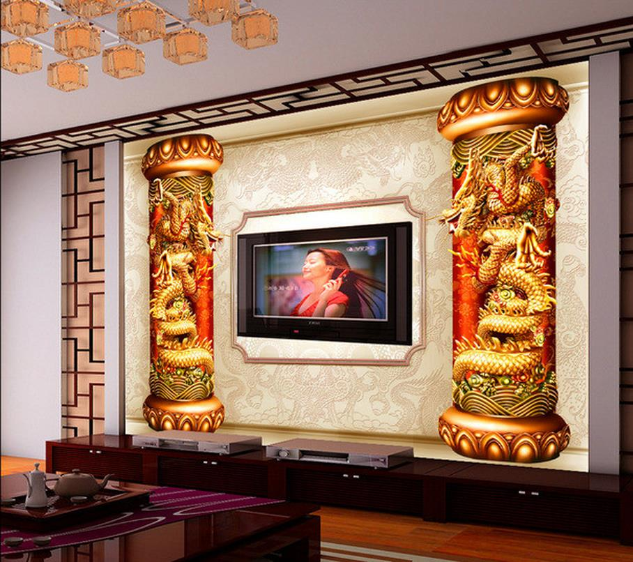 3D dragon relief mural living room TV wall custom 3d wallpaper photo wallpaper for walls room modern wallpaper custom wallpaper for walls 3 d photo wall mural pastoral country road tv walls 3d nature wallpapers for living room