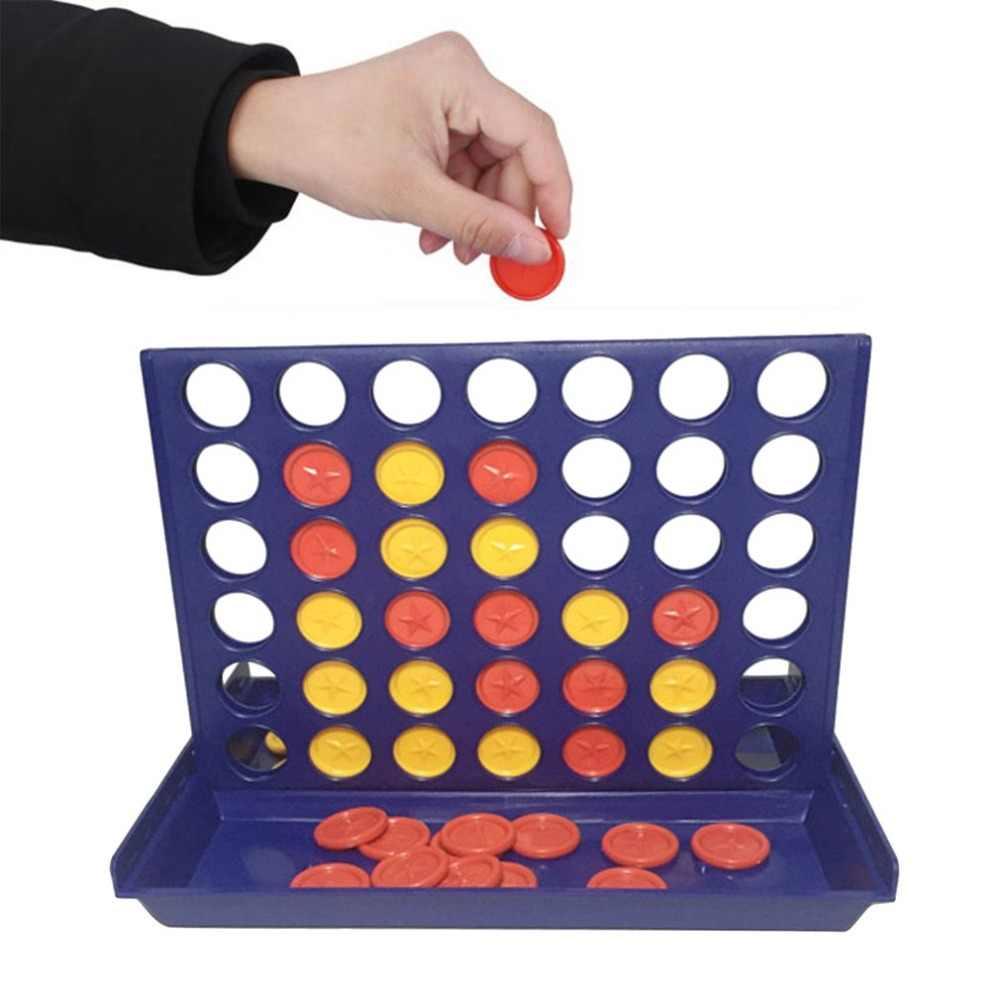 جديد ذكي الشطرنج لعبة اللعب ثلاثي الأبعاد أربعة-لعبة أربعة الشطرنج خمسة أطفال مجلس لعبة الألعاب التعليمية