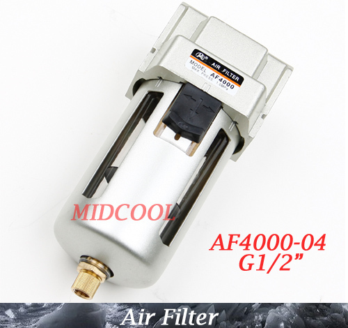 Air Source Treatment Unit Air Filter AF4000-04 G1/2, SMC type AF4000 Series pneumatic Filter ac4010 06 smc type 3 4 port air source treatment unit f r l combination