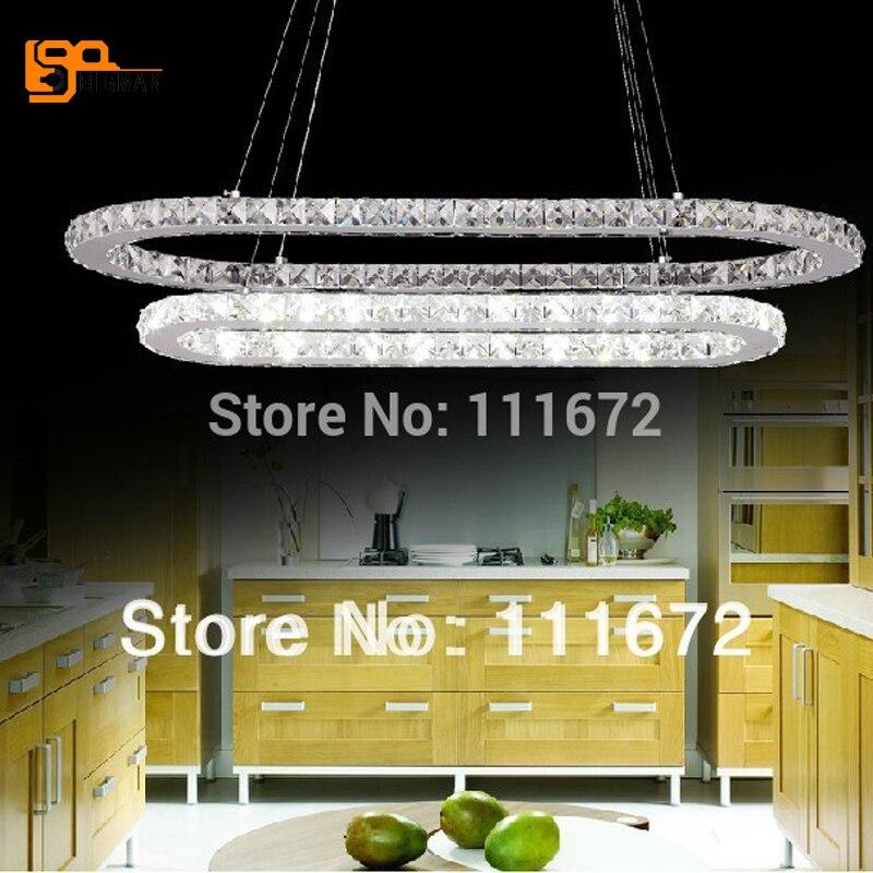 promotion sales new dinning room LED pendant lighting fixture crystal lamp