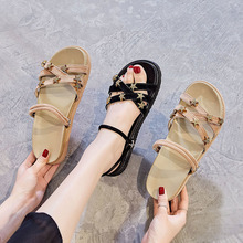 New Women Sandals Fashion Summer Shoes Bohemia Gladiator Beach Flat Casual Leisure Female Ladies