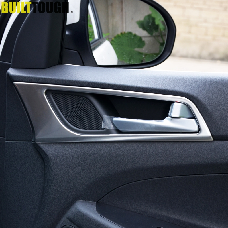 Fit For Hyundai Tucson 2015 2016 2017 Chrome Side Door