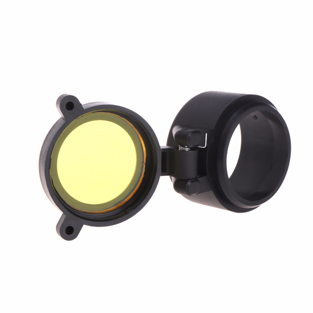 Objective Lens Eyepiece Dust Cover Telescope Aim Elasticity Protection Cap Round ...