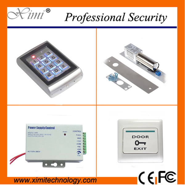 Good quality metal access controller face waterproof standalone RFID card reader without software door access control system