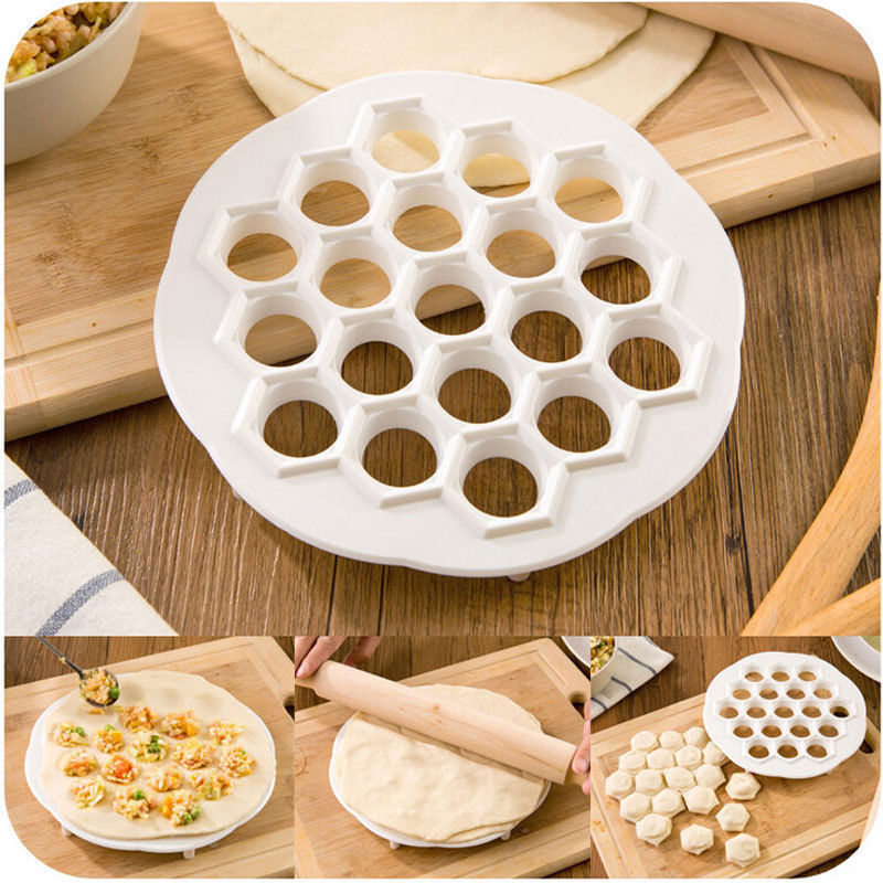 Dumpling Mould Maker Kitchen Dough Press Ravioli Making Mold Maker House Tool US