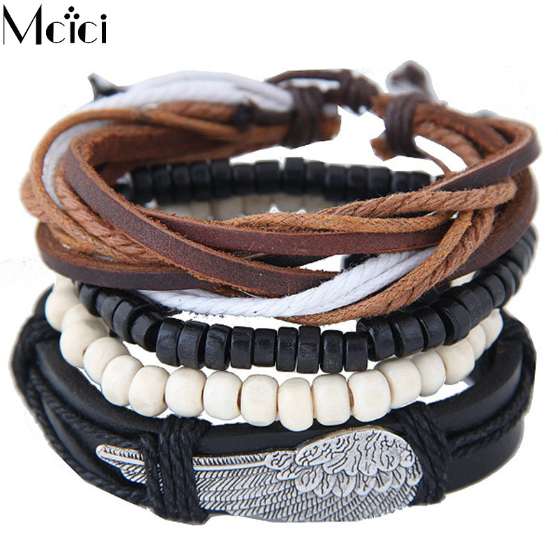 Punk Turkish Wing Shape Bracelets for Women&Men Be...