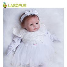 lagopus Reborn Doll 55cm Baby Bebe Toys for Children Soft Silicone Surprise