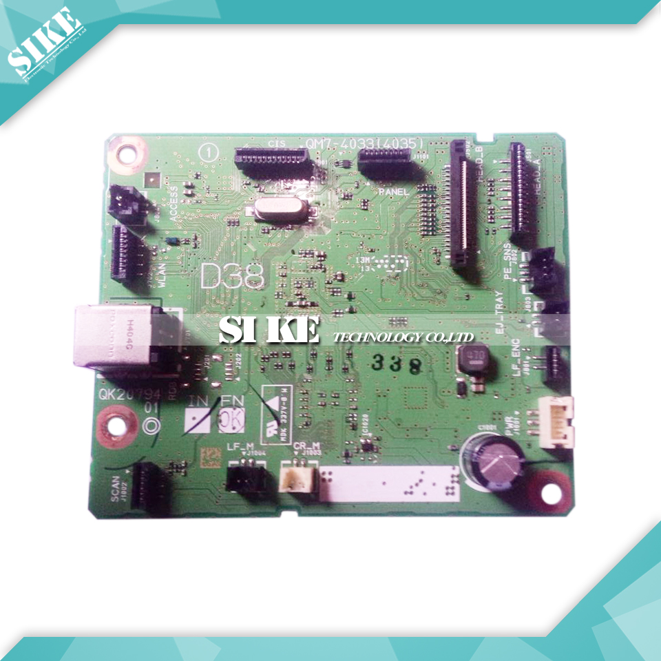 ФОТО Logic Main Board For Canon MG3580 MG 3580 Formatter Board Mainboard QM7-4033(4035)