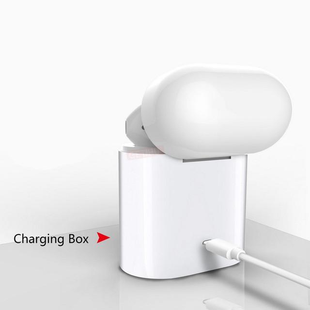 Mini Bluetooth Earphone Headphones For Apple iPhone X XS Max 8 Wireless Headphone Earphones Headset Phone in Air Ear Earbud Pods