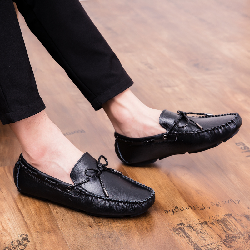 Men Loafers Shoes outdoor Italy Oxfords Business Dress Boat Shoes Formal Oxford Men Flat Shoes Wedding party shoes p4 39