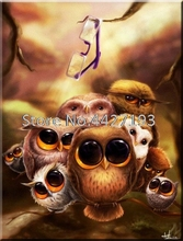 animal Diamond Embroidery DIY Painting Owl Cross Stitch Full Resin Rhinestone wall Decoration