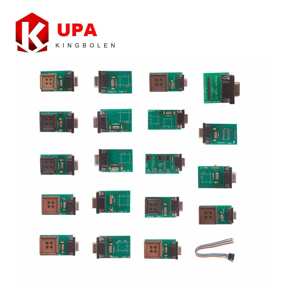 Prix pour Haute Qualité UPA USB Chip Programmeur Full Adaptateurs Seulement Livraison Gratuite