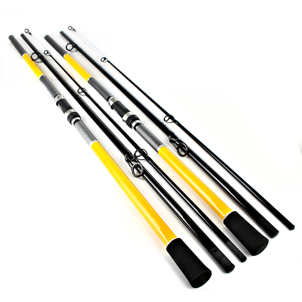 FISHING FRP 3.6M 3.9M 4.2M 4.5M 3 Section Carp Fishing Rod SURF fishing rods