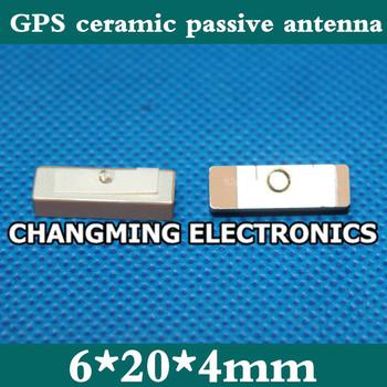 GPS ceramiczne antena pasywna 6*20*4mm PAD antena telefon komórkowy anteny (działa w 100 darmowa wysyłka) 5 sztuk tanie i dobre opinie GPS ceramic passive antenna NoEnName_Null