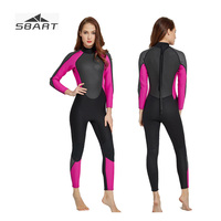 Sbart 3MM Neoprene Wetsuit for Women Spearfishing Diving Suit Separated Two pieces Full Body Ladies Wet suit Surfing Suit