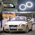 Para Volvo C70 2006 2007 2008 2009 Excelente Ultrabright led Angel Eyes iluminação smd led Angel Eyes kit de Halo Anel