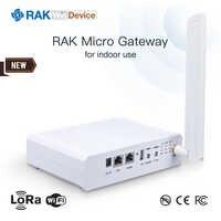 Passerelle Micro RAK WisDevice RAK7258 passerelle intérieure LoRaWAN. MT7628, DDR2RAM 128 mo, 8 canaux