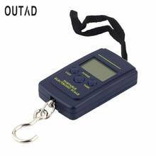Kitchen Mini Electronic Digital Scale 40kg/10g Portable Hanging Fish Hook Pocket Kitchen Balance Weighing Scale цены
