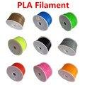 Makerbot/reprap/mendel/UP 3D printer PLA 1.75mm 1 kg (2.2lb) de filamentos de Plástico multicolor Material de consumo