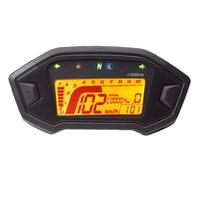 7 Color Adjustable Motorcycle Tachometer Digital Speedometer LCD Digital Odometer Case For Honda MSX125 TYB001