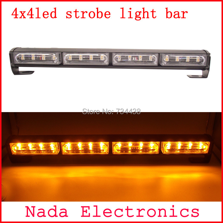 16led Police strobe lights vehicle strobe light bar car warning lights led emergency flash lamp DC12V RED BLUE WHITE AMBER GREEN befree befree be031ewhiq34