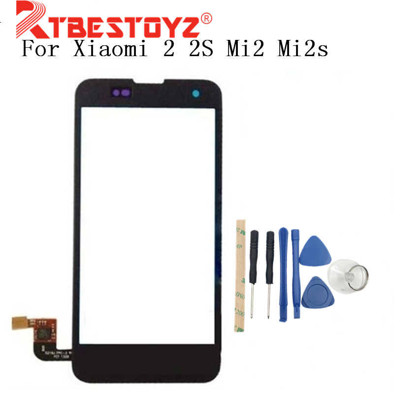 RTBESTOYZ 4.3'' Touch Screen Digitizer For Xiaomi 2 2S Mi2 Mi2s digitizer touch screen display Free shipping + Order Tracking image