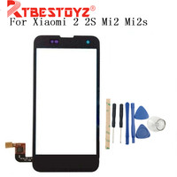 RTBESTOYZ 4.3'' Touch Screen Digitizer For Xiaomi 2 2S Mi2 Mi2s digitizer touch screen display Free shipping + Order Tracking Mobile Phone Touch Panel     -