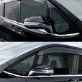 Зеркало заднего вида JY SUS304 из нержавеющей стали  декоративное покрытие  отделка автомобиля для TOYOTA NOAH/VOXY 2014-2017