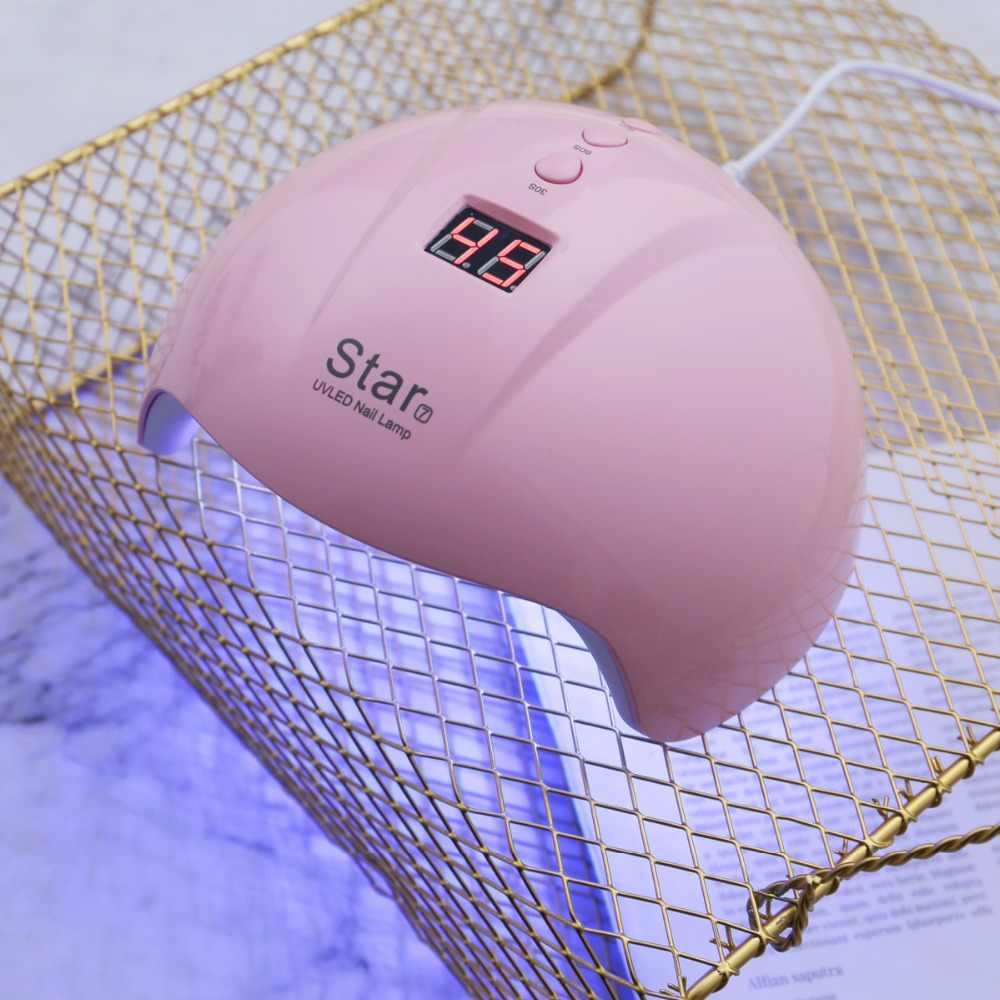 ENNKE LED UV Nail Dryer 36W Star 7 Nail Machine Gel Varnish Manicure 30/60/90S Timer High Quality USB Connection UV LED Lamp