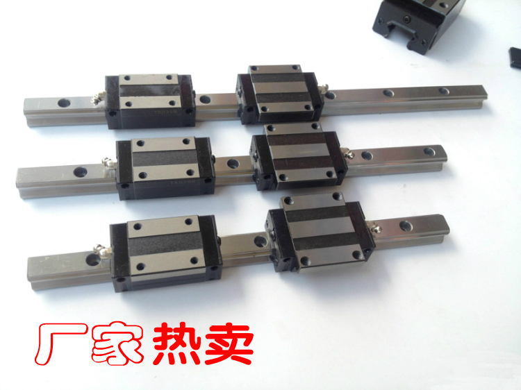 Фотография TRH15 1m cnc linear guide rail 1000mm+TRH15B Carriage = hiwin HG15R-1000mm+HGH15CA