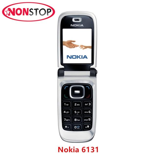 Nokia Flip Phone >> Nokia Flip Phone Nokia 6131 Unlocked 6131 Original Mobile Phone