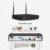 1 TB HDD CCTV Sistema 4CH H.264 NVR Gravador De Vídeo P2P Sem Fio 1MP HD IR Ao Ar Livre Câmera IP WIFI 720 P Branco Tampa de Segurança câmera