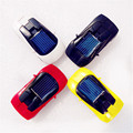 Very Interesting 7x3x1.5cm Mini Solar Lamborghin Sports Car Cool Training Toy for Kids