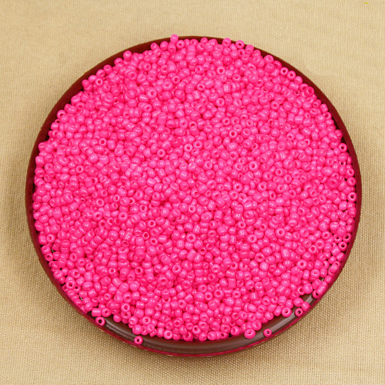 Honest 80g/lot Neon Colour Rose 2mm Glass Seed Loose Spacer Beads For Jewelry Making & Diy Craft Cn001 100% Guarantee Jewelry & Accessories Beads & Jewelry Making
